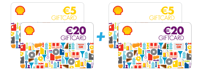 Shell Giftcards